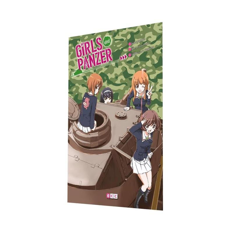 GIRLS UND PANZER Y GIRLS UND PANZER - LITTLE ARMY - PACK (OCASIÓN)