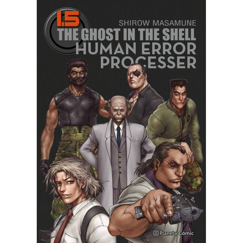 GHOST IN THE SHELL  1.5: HUMAN ERROR PROCESSER (TRAZADO)