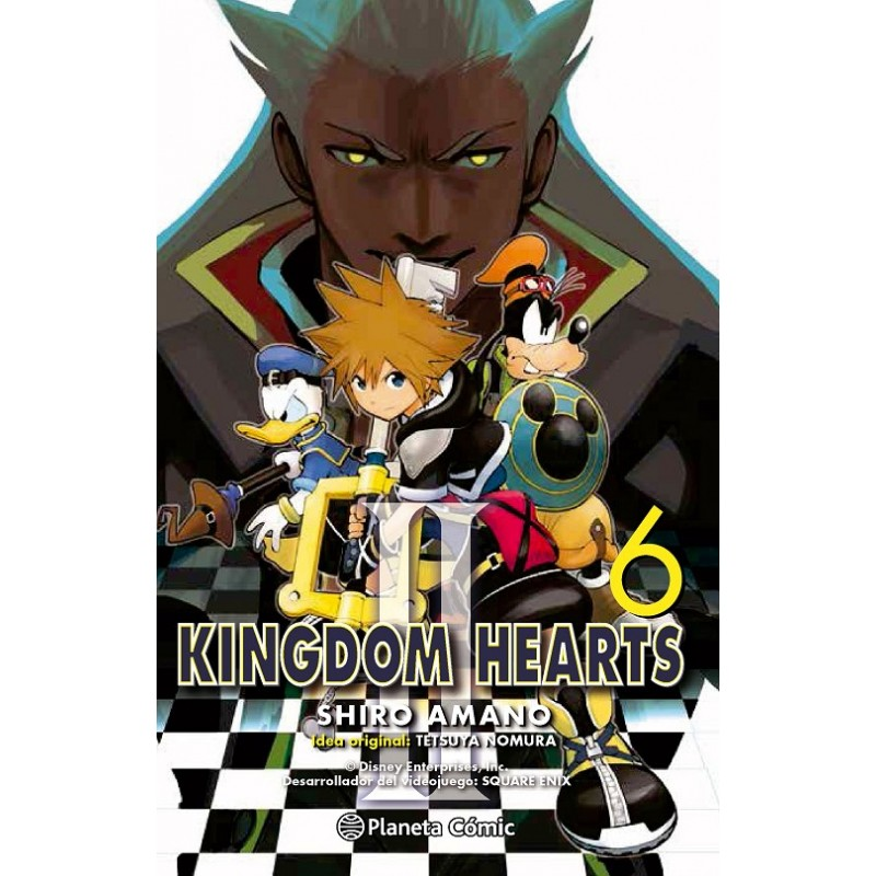 KINGDOM HEARTS II Nº 06 (DE 10)
