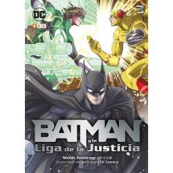 BATMAN Y LA LIGA DE LA JUSTICIA 03 (Manga)