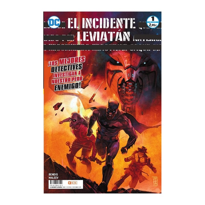 EL INCIDENTE LEVIATÁN Nº 01 (DE 6)