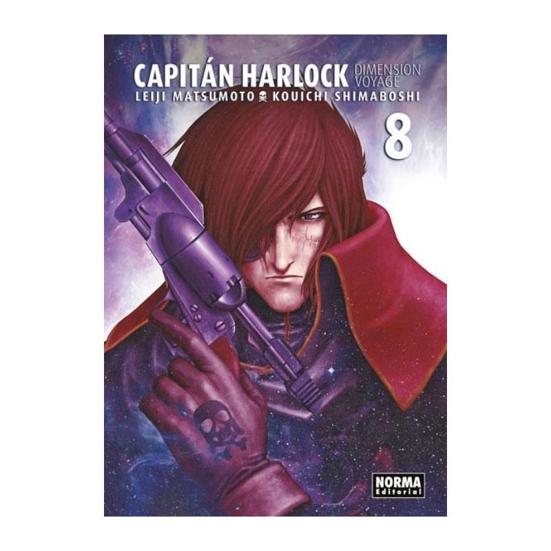 CAPITÁN HARLOCK DIMENSION VOYAGE Nº 8