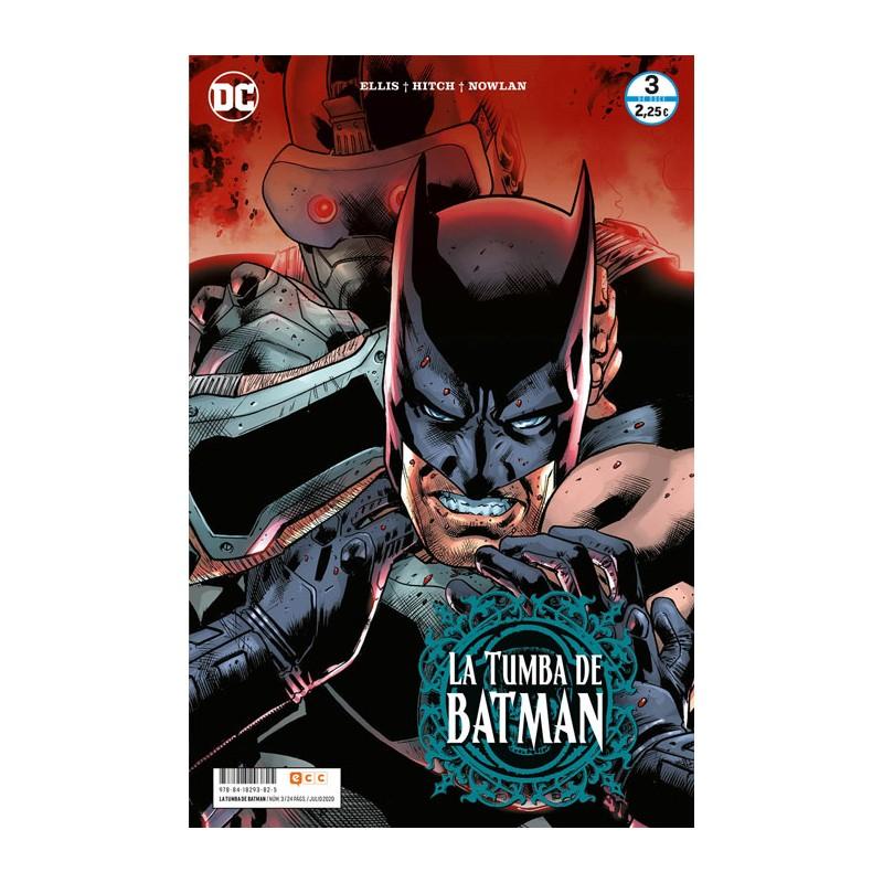 LA TUMBA DE BATMAN Nº 03