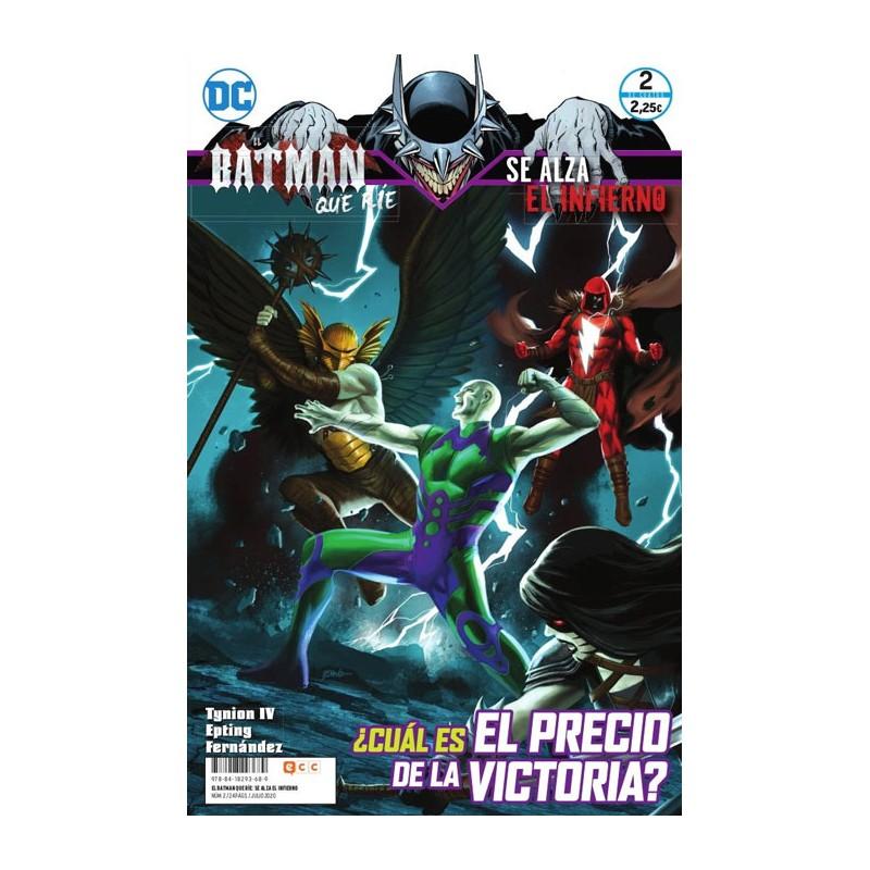 EL BATMAN QUE RÍE: SE ALZA EL INFIERNO Nº 02 (DE 4)