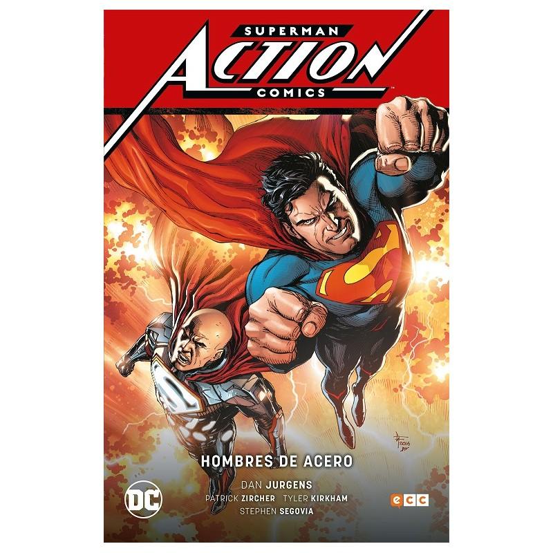 SUPERMAN: ACTION COMICS VOL. 02 HOMBRES DE ACERO (RENACIMIENTO)