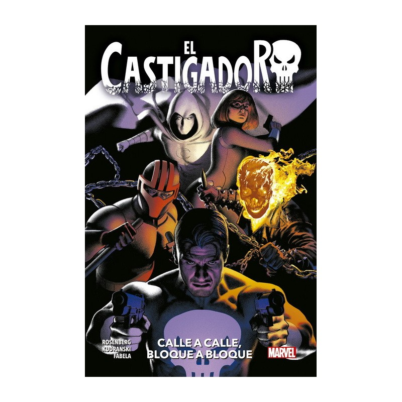 EL CASTIGADOR VOL. 08: CALLE A CALLE, BLOQUE A BLOQUE