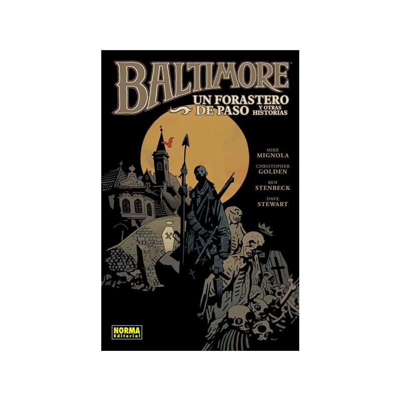 BALTIMORE Nº 03 (DE 08) : UN FORASTERO DE PASO Y OTRAS HISTORIAS