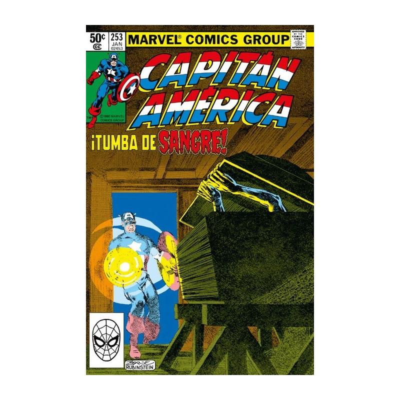 MARVEL FACSÍMIL: CAPTAIN AMERICA Nº 253 ¡TUMBA DE SANGRE!