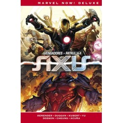 IMPOSIBLES VENGADORES 3: AXIS (MARVEL NOW! DELUXE)