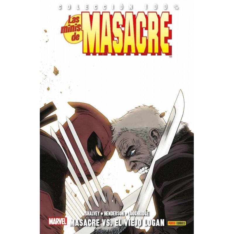 LAS MINIS DE MASACRE VOL. 12: MASACRE VS EL VIEJO LOGAN (COLECCION 100% MARVEL)