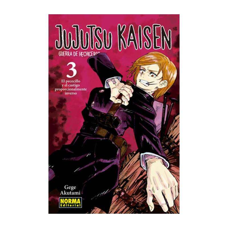 JUJUTSU KAISEN Nº 03