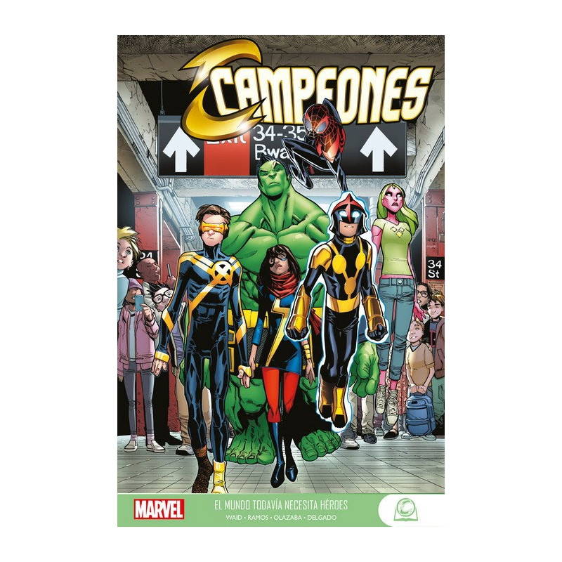 MARVEL YOUNG ADULTS CAMPEONES VOL. 01