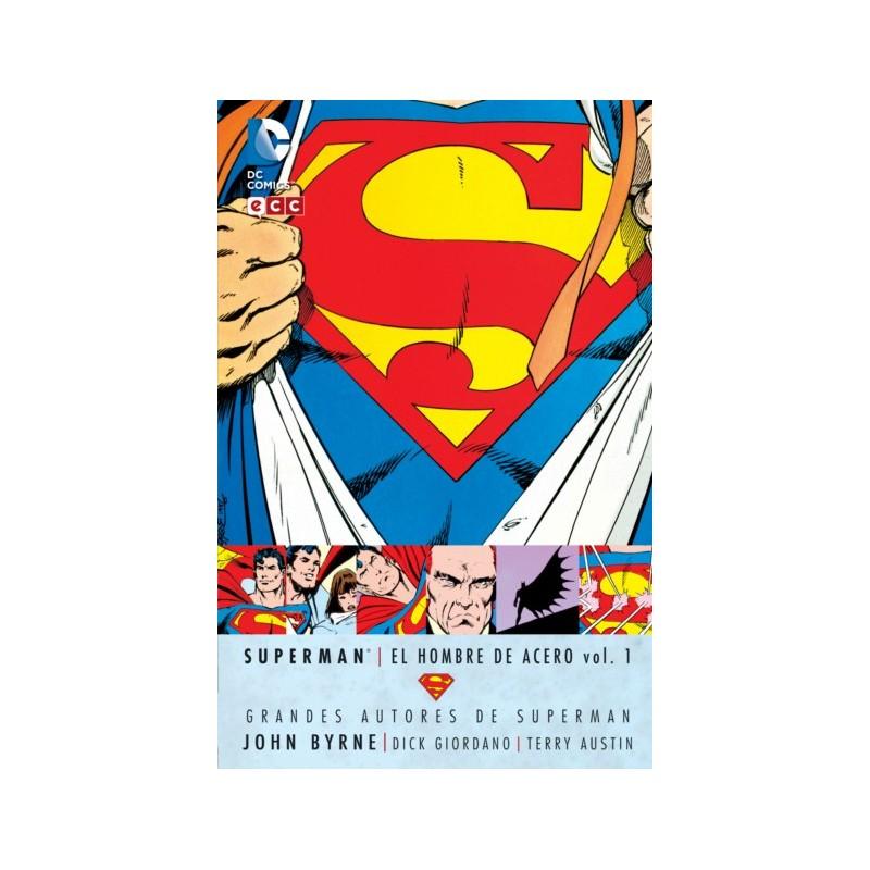 SUPERMAN EL HOMBRE DE ACERO VOL. 01 (GRANDES AUTORES JOHN BYRNE