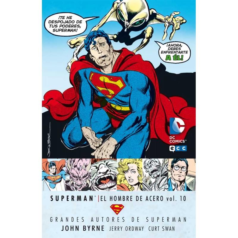 SUPERMAN EL HOMBRE DE ACERO VOL. 10 (GRANDES AUTORES JOHN BYRNE