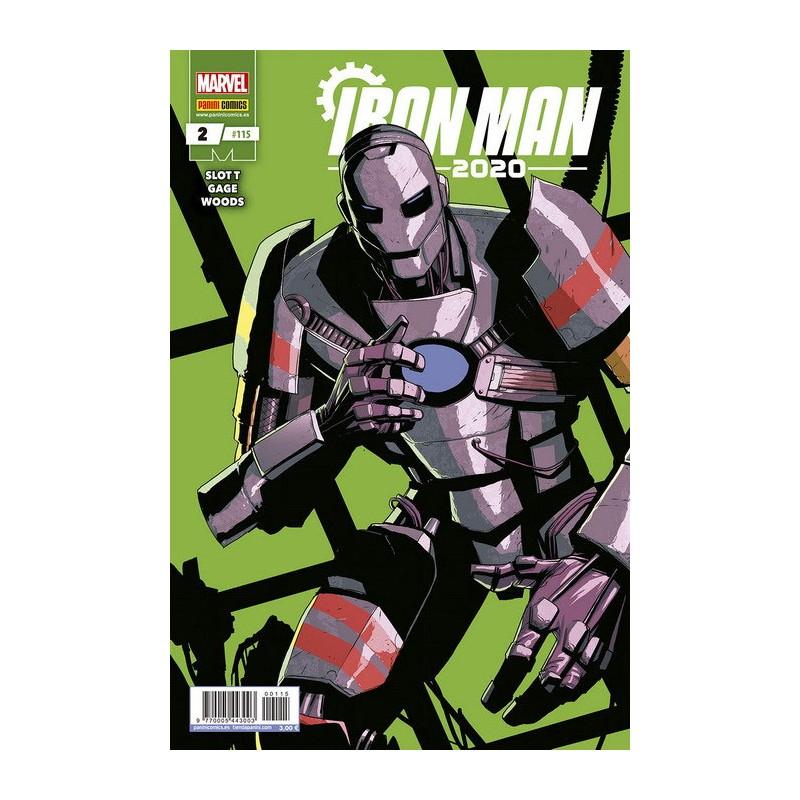 IRON MAN 2020 Nº 02 / 115