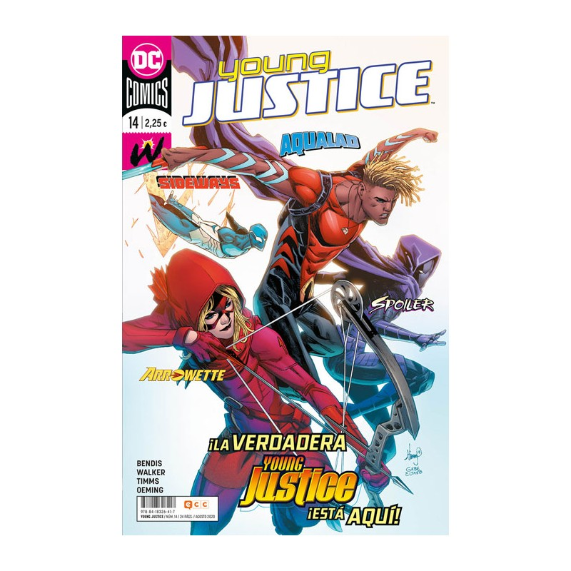 YOUNG JUSTICE Nº 14