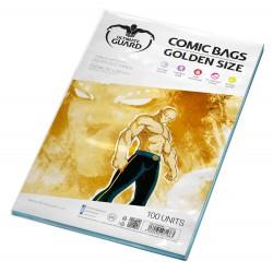 FUNDAS TAMAÑO GOLD CON CIERRE REUTILIZABLE (100 UNID.)