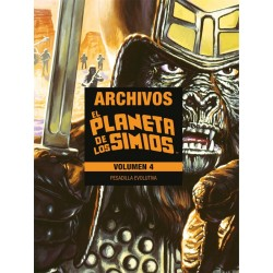 EL PLANETA DE LOS SIMIOS: ARCHIVOS VOL. 04...