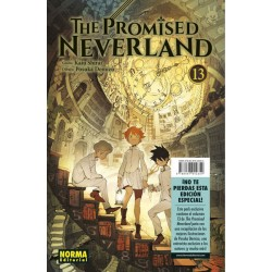 THE PROMISED NEVERLAND Nº 13 (EDICION ESPECIAL)