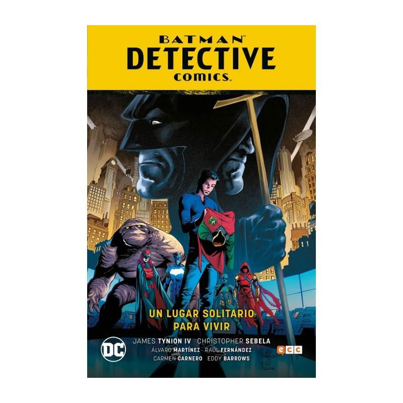 BATMAN DETECTIVE COMICS VOL. 05: UN LUGAR SOLITARIO PARA VIVIR (RENACIMIENTO PARTE 6)