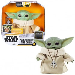 STAR WARS BABY YODA: THE CHILD 25 CM (PELUCHE ANIMATRONICO)