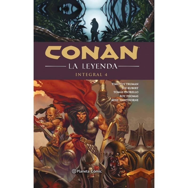 CONAN LA LEYENDA (INTEGRAL) Nº 04 (DE 4)