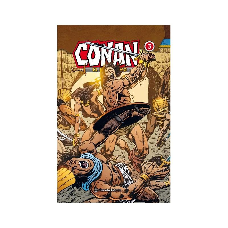 CONAN EL BÁRBARO (INTEGRAL) Nº 03 (DE 10)