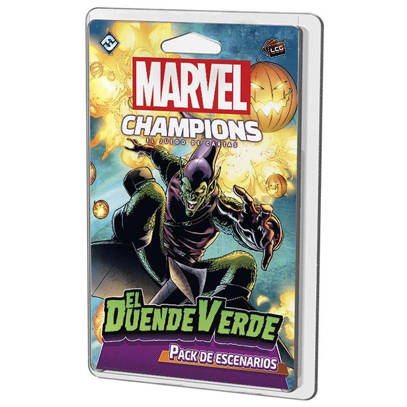 MARVEL CHAMPIONS LCG: EL DUENDE VERDE (PACK ESCENARIOS)