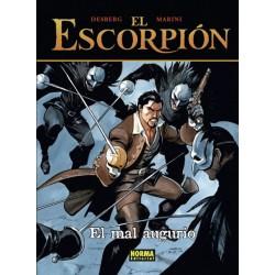 EL ESCORPIÓN 12 EL MAL AUGURIO (CARTONÉ)