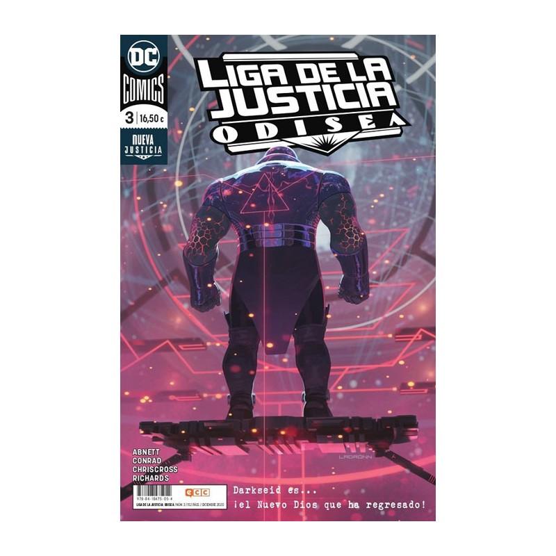 LIGA DE LA JUSTICIA: ODISEA Nº 03