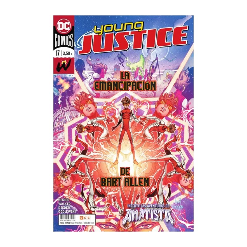 YOUNG JUSTICE Nº 17