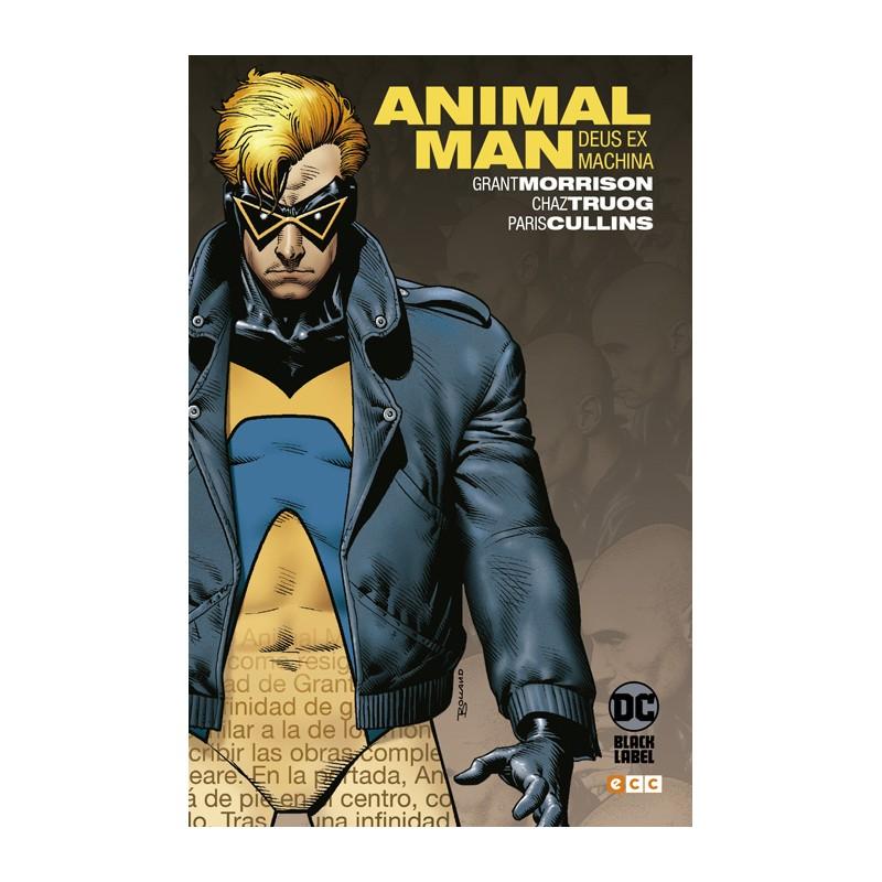 BIBLIOTECA GRANT MORRISON: ANIMAL MAN NÚM. 03 (DE 3)