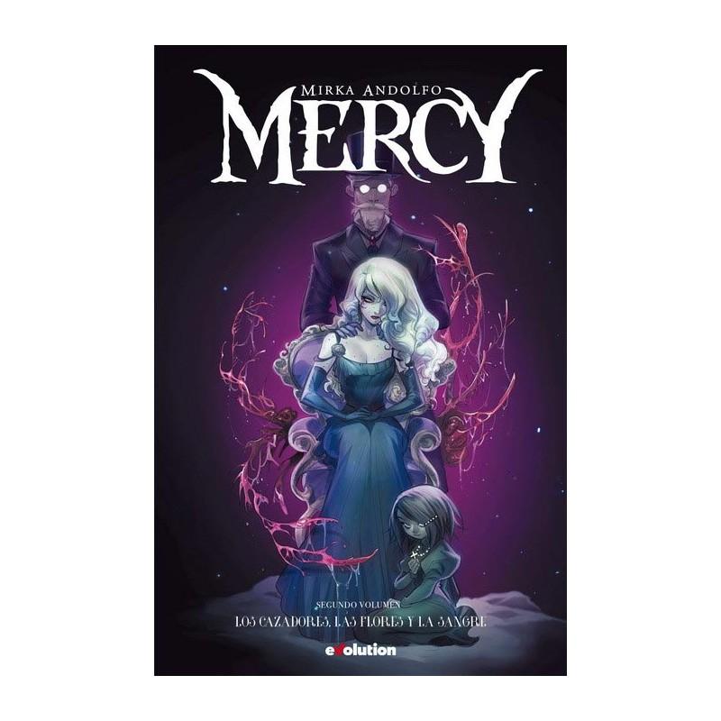 MERCY VOL. 02: LOS CAZADORES, LAS FLORES Y LA SANGRE