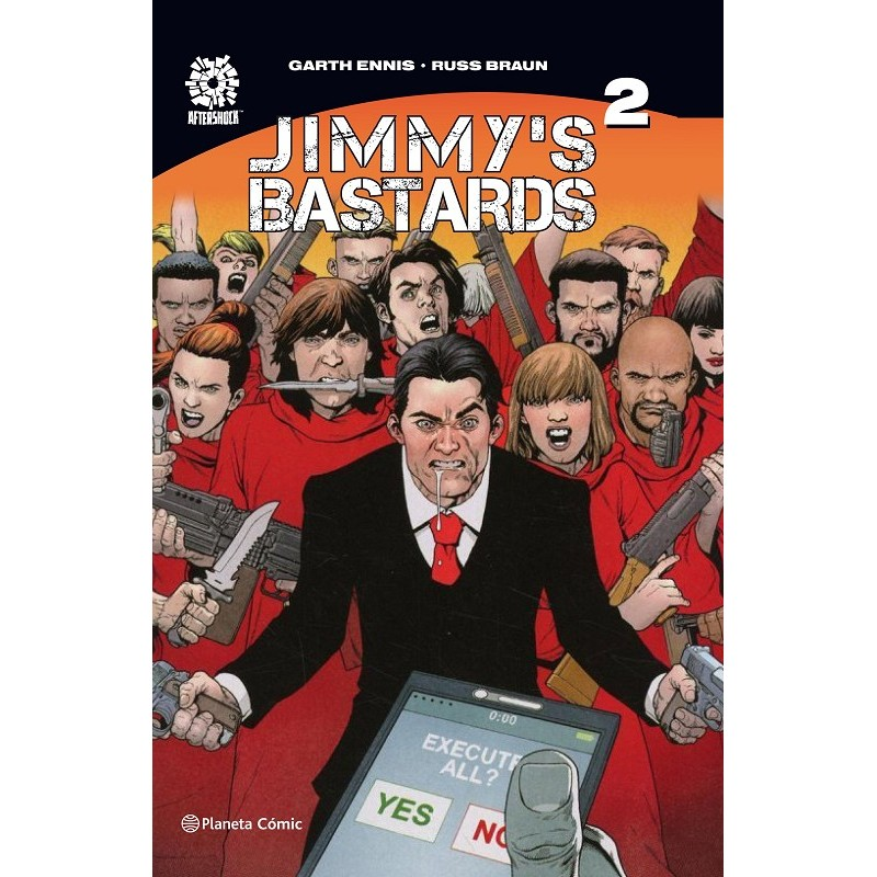 JIMMY'S BASTARDS Nº02 (DE 02)
