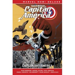 CAPITÁN AMÉRICA DE NICK SPENCER VOL. 01 (MARVEL NOW! DELUXE)
