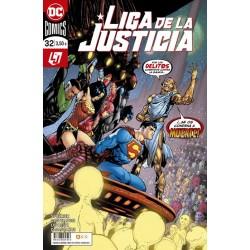 LIGA DE LA JUSTICIA Nº 32 / 110