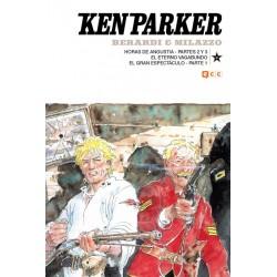 KEN PARKER Nº 33: HORAS DE ANGUSTIA – PARTES 2 Y 3 / EL ETERNO VAGABUNDO / EL GRAN ESPECTÁCULO – PARTE 1