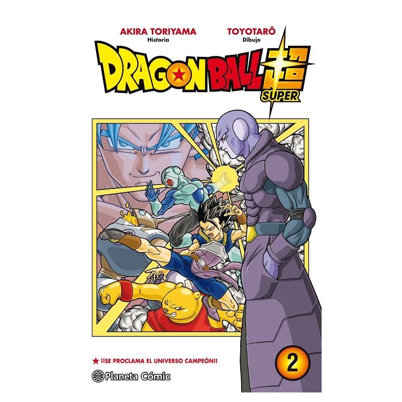 DRAGON BALL SUPER Nº 02: ¡¡SE PROCLAMA EL UNIVERSO CAMPEON!!