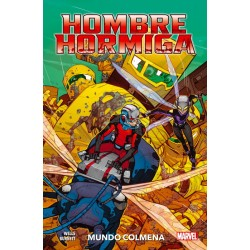 HOMBRE HORMIGA: MUNDO COLMENA