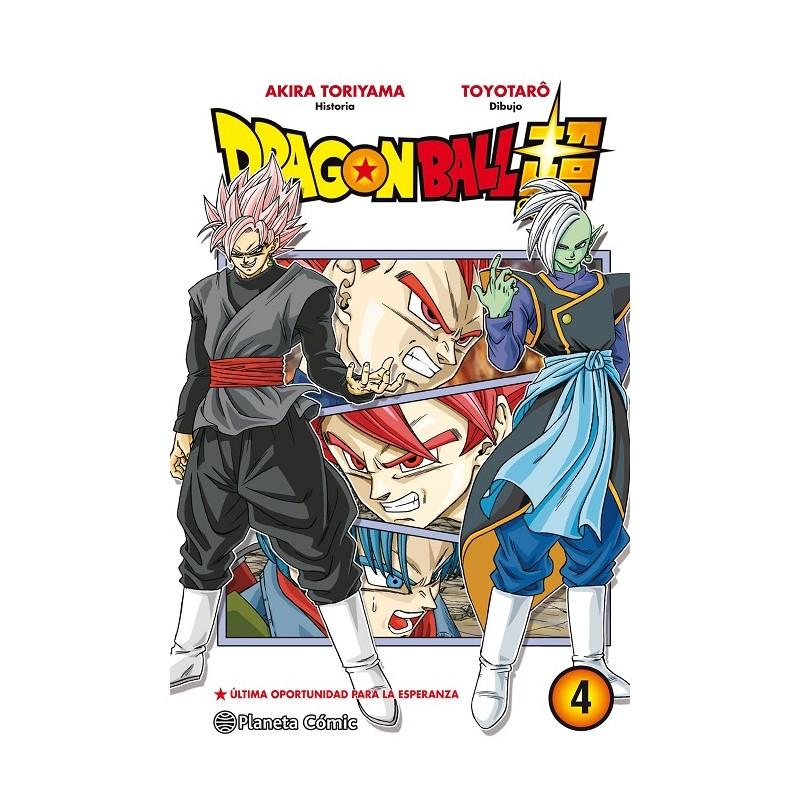 DRAGON BALL SUPER Nº 04: ULTIMA OPORTUNIDAD PARA LA ESPERANZA