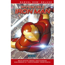 INVENCIBLE IRON MAN VOL. 01 (MARVEL NOW! DELUXE)