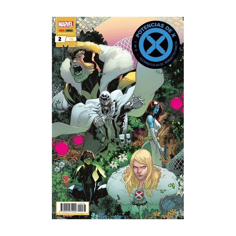 POTENCIAS DE X Nº 02 (DE 6)