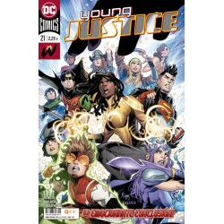 YOUNG JUSTICE Nº 21