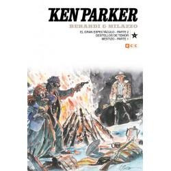 KEN PARKER Nº 34: EL GRAN ESPECTÁCULO PARTE 2 / DESTELLOS DE TEMOR / MESTIZO PARTE 1
