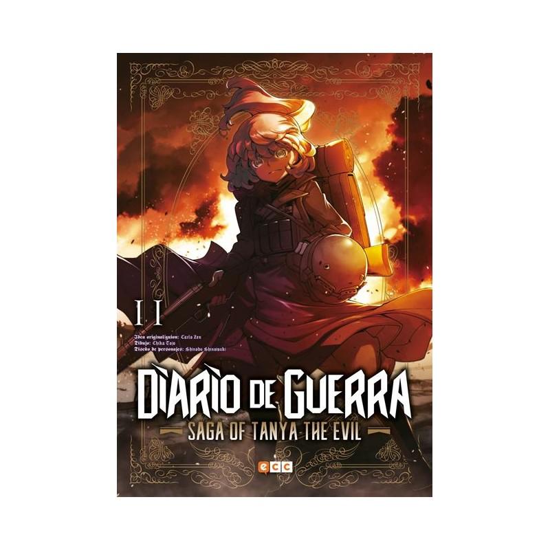 DIARIO DE GUERRA - SAGA OF TANYA THE EVIL Nº 11