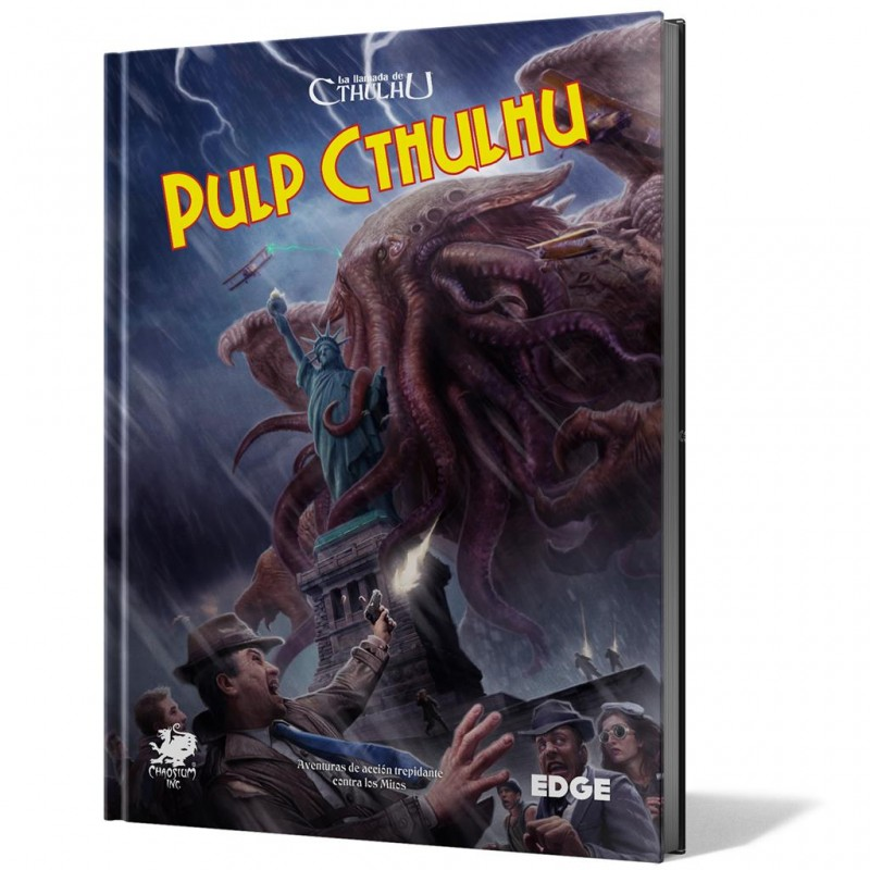 PULP CTHULHU (LA LLAMADA DE CTHULHU 7 ED.)