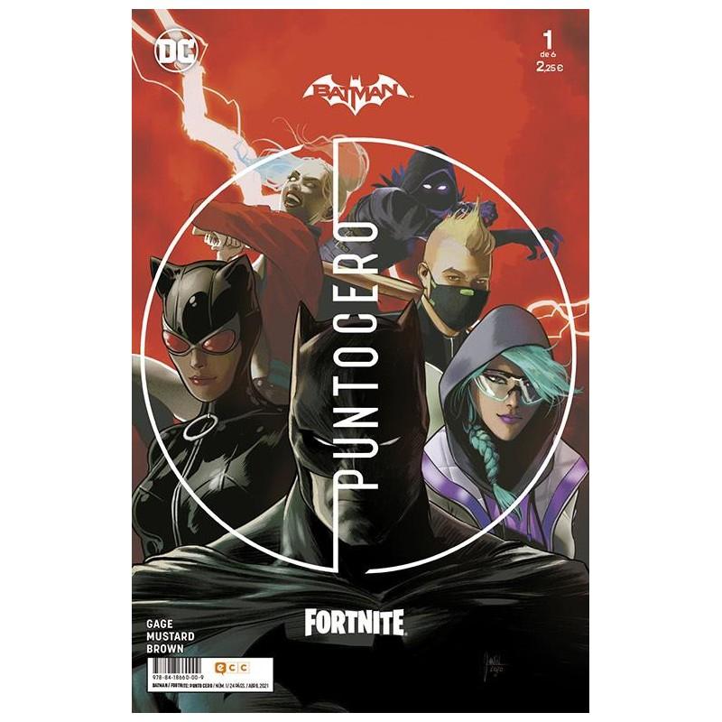 BATMAN / FORTNITE: PUNTO CERO Nº 01 (DE 06)
