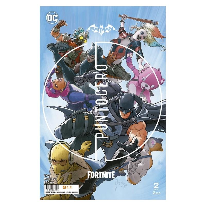 BATMAN / FORTNITE: PUNTO CERO Nº 02 (DE 06)