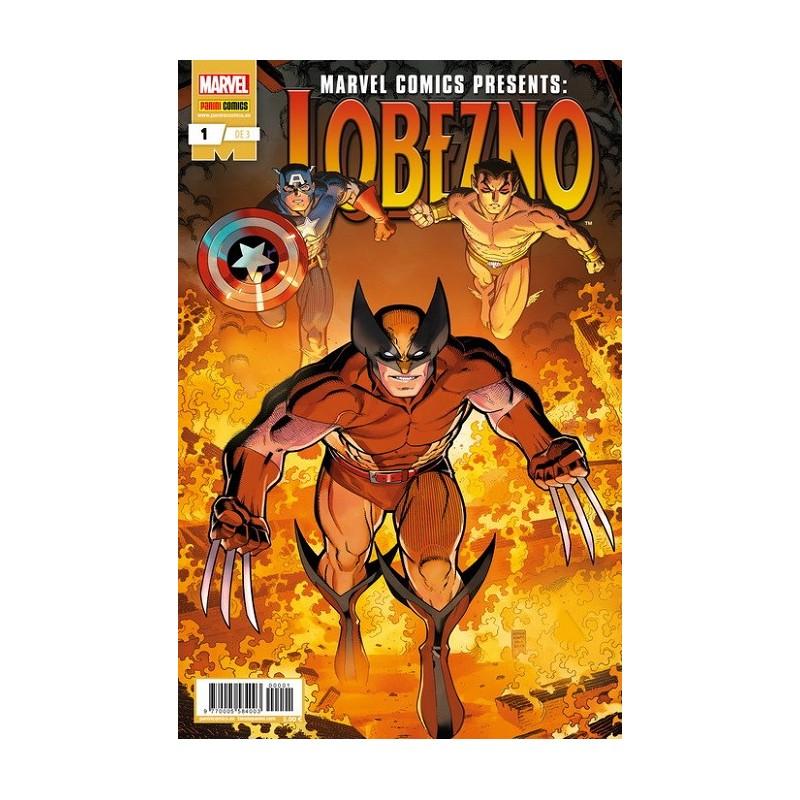 MARVEL COMIC PRESENTS: LOBEZNO Nº 01 (DE 3)