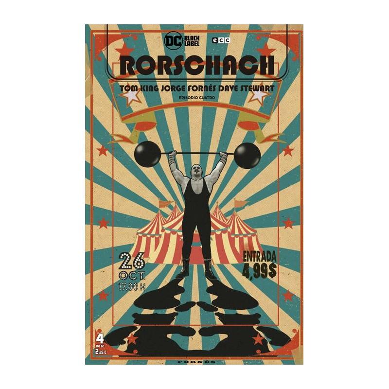 RORSCHACH Nº 04 (DE 12)